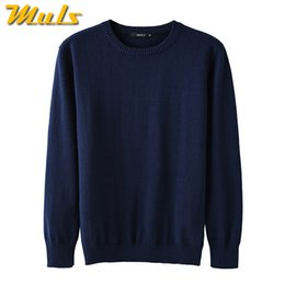 $enCountryForm.capitalKeyWord Australia - 4Colors Men Sweater Pullovers 100% Cotton O neck Normcore Sweater Jumpers Man Winter Male knitwear Plus Size 4XL 2017 Autumn New