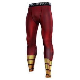 Pattern Cloth Australia - Shazam 3D Printed Pattern Compression Tights Pants Men 2019 Sweatpants Fitness Skinny Leggings Trousers Male Cloth