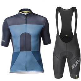 $enCountryForm.capitalKeyWord Australia - 2019 Mavic Team short sleeve Cycling Jersey 9D Gel Pad Bibs Shorts Ropa Ciclismo Racing Pro Bike Shirts Men
