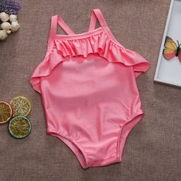 Swimwear Infant Australia - 2019 Brand New Toddler Infant Kids Baby Girl Swimsuit Bodysuit Bikini Bathing Beachwear Outfits Children Summer Swimwear