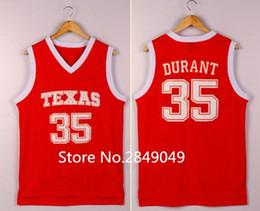 $enCountryForm.capitalKeyWord Australia - Kevin Durant Texas College Basketball Jersey Embroidery Stitched XS-6XL vest Jerseys NCAA