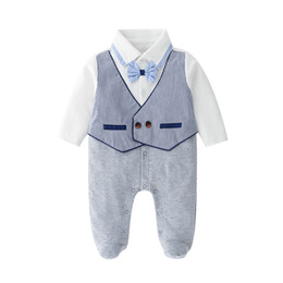 $enCountryForm.capitalKeyWord UK - 0-24months Newborn Baby Boy Romper Striped Overalls Jumpsuit Clothes Onesies kid clothing toddler clothes baby costume
