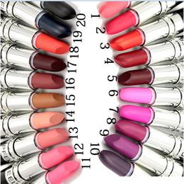 Lipstick 3g Dhl Australia - factorr derict DHL free shipping POPFEEL newest makeup matte lipstick 3g