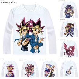 $enCountryForm.capitalKeyWord Australia - Yami Yugi Yami Dark T Shirt Duel Monsters Yuu Gi Ou Yu-Gi-Oh King of Games Men T-shirt Casual Vintage TShirt Long Sleeve Shirts