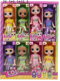 figure classics Australia - Hot 6 inch Classic lol doll with Fruity Aroma doll cute lol doll the most popular girl toy exquisite gift hottest toys LL407