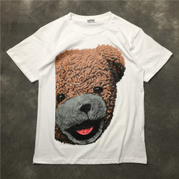 $enCountryForm.capitalKeyWord Australia - New Novelty 2019 Men Plush Bear 3d T Shirts T-shirt Hip Hop Skateboard Street Cotton T-shirts Tee Top Kenye S-xxl #k21
