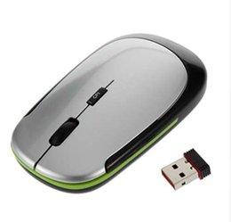 Thin Mini Laptop Australia - 1Pc 2.4GHz USB Receiver Slim Mini Wireless Optical Mouse Mice for Computer PC Fashion Ultra-thin Mouse For Laptop Computer