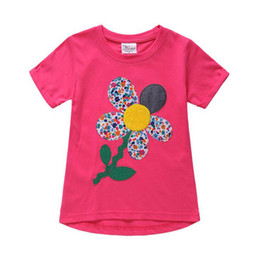 Pattern design for clothes online shopping - 8 Design New Fashion Children Cotton T shirt for Boys Clothing Baby Girls Tops Kids Tee Shirt Animal Pattern T shirts