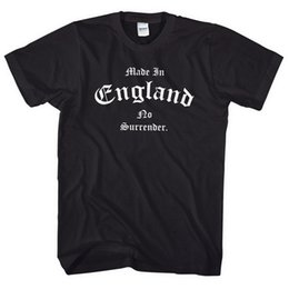 $enCountryForm.capitalKeyWord UK - Made In England No Surrender T Shirt St Georges Day Men Women Kids Tee Old L38 Male Hip Hop funny Tee Shirts cheap wholesale