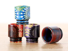 custom vape drip tips Australia - vape heat resist and epoxy resin big 810 drip tip wide bore drip tip smok mouth piece vape tips custom