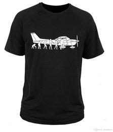 T-shirt T-Shirt Cessna Fly T-shirt Für Männer Persönlichkeit Kurzarm Mode Benutzerdefinierte 3XL Paar T-shirts im Angebot