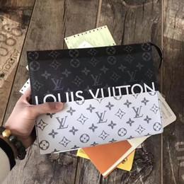 70f7535ad6 L ouis v uitton portafoglio in pelle di alta qualità uomo famoso marchio  borse pochette di lusso tote borsa del progettista di modo delle donne  buste borse