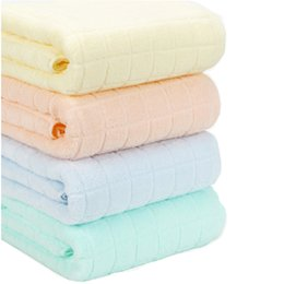 China Adults Pure Cotton Shower Towels 140*70cm Beach Spa Bathrobes Body Wrap Towels Fast Drying Strong Absorbent Towels Home Supplies TTA298 cheap wholesale spa towels wraps suppliers