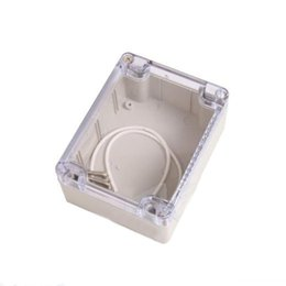 $enCountryForm.capitalKeyWord Australia - 1pc Plastic DIY Electronic Project Instrument Box Clear Cover Waterproof Enclosure Case 115mmx90mmx55mm