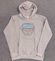 Wholesale patagonia pullover online – oversize Mens SS Hoodies PATAGONIA MOUNTAIN Sweatshirts Fleece Fashion Tops Pullovers men s women hoodies BC0607