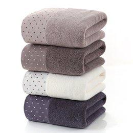Cotton Serviettes Australia - Large Cotton Bath Shower Towel Thick Towels Home Bathroom Hotel For Adults Kids Badhanddoek Toalha de banho Serviette de bain