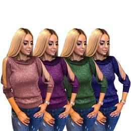 $enCountryForm.capitalKeyWord Australia - Suit-dress Long Sleeve Rendering Unlined Upper Garment Split Joint Gauze Perspective Flash Of Light Silk Pullover Jacket Autumn
