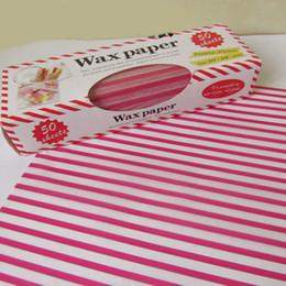 $enCountryForm.capitalKeyWord Australia - 50pcs set Cake Packaging Oil Proof Waterproof Bread Sandwich Snack Tools Baking Wrapping Burger Anti-stick Grease Fries