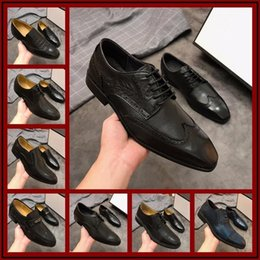 $enCountryForm.capitalKeyWord Canada - New Mens Designer Dress Shoes Both Inner Outer Layers Are Imported Cowhide Fashion Classic Men's Business Shoes Dress Shoes Size 38-45