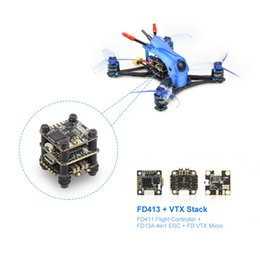 micro car racing NZ - HGLRC Parrot120 Pro PNP 2.5inch Toothpick FPV Racing Drone with 6000KV Brushless Motor FD13A 4 in 1 ESC Micro VTX Stack