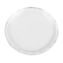 $enCountryForm.capitalKeyWord Australia - BESTGlass Nail Art Color Mixing Palette Drawing Pattern, Transparent Glass Nail Art Palette Paint Drawing Color Pigment Dish M