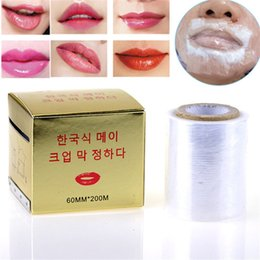 Wholesale 60MM M Lip Tattoo Plastic Wrap Disposable Cling Film Makeup Microblading Supplies Accessories Wrap Cover With Box
