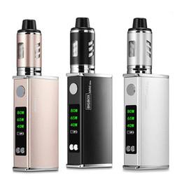 Big Vapor Batteries Australia - Electronic Cigarette 40W-80W Adjustable vape mod box kit 2200mah 0.5ohm battery 2.8ml tank e-cigarette Big atomizer vapor