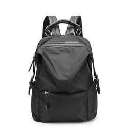 Wholesale women Backpack Waterproof shoulder bag unisex casual computer bag Nylon student bags Manufacturers selling free shopping