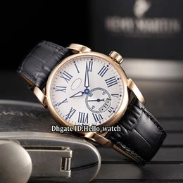 $enCountryForm.capitalKeyWord Australia - Cheap New Model 42mm Big Date Tonda PF012500.01 White Dial Automatic Mens Watch Rose Gold Case Leather Strap High Quality Watches 7 Color