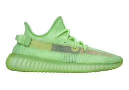 Best Kids Summer Shoes Australia - Buy Kanye West Glow men women kids shoes for sales With Box free shipping Best NEW running shoes store US5-US13