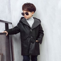 $enCountryForm.capitalKeyWord Canada - Black Children Jackets Boys Winter Coat 2018 Baby Winter Clothes Kids Warm Outerwear Hooded Coat For 3T-12 Yrs Children Clothes