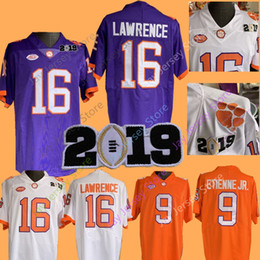 Black college footBall jerseys online shopping - 2019 NCAA College Clemson  Tigers Football Jerseys Travis Etienne eea9d5698