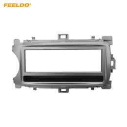 $enCountryForm.capitalKeyWord Australia - FEELDO Car Stereo Radio Panel Fascia Frame Adapter For Toyota Yaris (XP130) 1-Din Dash Face Plate Refitting Trim Kit #4868