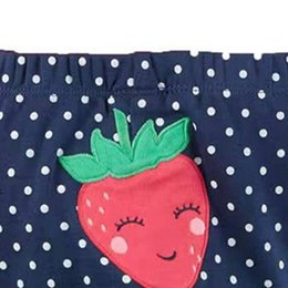printed sport trousers NZ - Autumn Baby Pants Cute Baby PP Pants Boys Girls Warm Pants Children Trousers Striped Strawberry Print Sweet Bottoms