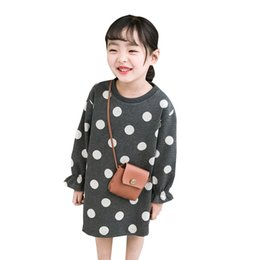 $enCountryForm.capitalKeyWord Australia - 2019 Girls Dress Kids Dress Baby Girl Clothes O Neck Spring Long Sleeve Casual Girls Clothing Dot Children Princess Dress 12m-8t