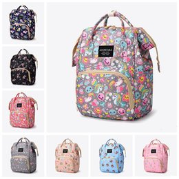 boys backpacks wholesale Canada - Fashion Mummy Maternity Nappy Bag Large Capacity Travel Backpack Outdoor Beach Woman Handbag Multi-function Shopping Bags