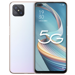 """Wholesale Original OPPO A92S 5G Mobile Phone 8GB RAM 128GB ROM MTK 800 Octa Core Android 6.57"""" Full Screen 48.0MP Face ID Fingerprint Smart Cell Phone"""