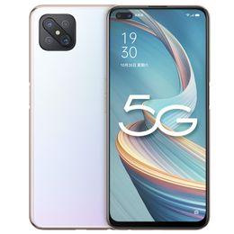 "Original OPPO A92S 5G Mobile Phone 8GB RAM 128GB ROM MTK Dimensity 800 Octa Core Android 6.57"" Full Screen 48.0MP OTG 4000mAh Face ID Fingerprint Smart Cell Phone on Sale"