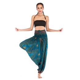 $enCountryForm.capitalKeyWord NZ - 2019 new European and American Fashion Explosion Leisure Yoga Pants Yoga Suit Bohemian Crotch Pants gym pants