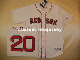 Discount cool jersey names - Cheap custom KEVIN YOUKILIS #20 Cool Base Baseball Jersey Stitched Customize any name number MEN WOMEN BASEBALL JERSEY X