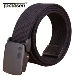 paintball equipment NZ - wholesale Men SWAT Equipment Army Paintball Belt Military Combat Belt Men's Tactical Belts Canvas Waistband TD-BLL-007