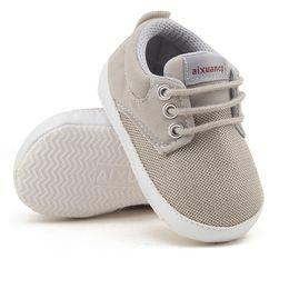 $enCountryForm.capitalKeyWord Australia - Newborn Baby Boy Shoes First Walkers Spring Autumn Baby Boy Soft Sole Shoes Infant Canvas Crib Shoes 0-18 Months