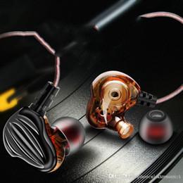 $enCountryForm.capitalKeyWord Australia - Promotion CK4 HIFI Earphone Quad core double motion ring horn HiFi Bass mobile computer music headset with mic