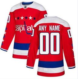 Nhl Hockey Jersey S NZ - Custom Washington Capitals nhl hockey jerseys Dustin Byfuglien Connor Hellebuyck 2019 Stanley Cup Final Patch Jersey 4xl 5xl 6xl cheap shirt
