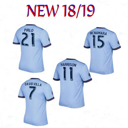 5203370d5b258 Discount man city jerseys - Thai quality 2018 2019 New York city FC Soccer Jersey  18