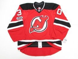 Cheap custom MARTIN BRODEUR NEW JERSEY DEVILS HOME 100th ANNIVERSARY JERSEY  stitch add any number any name Mens Hockey Jersey XS-6XL 7d2dc47f0