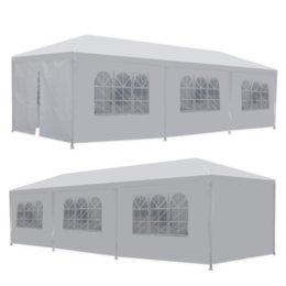 venda por atacado Enviar dos EUA 10 'x 30' 8 lados 2 portas do partido casamento pátio ao ar livre tenda Canopy Heavy Duty gazebo evento de pavilhão