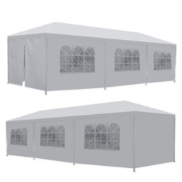 Ship from USA 10' x 30' 8 Sides 2 Doors Party Wedding Outdoor Patio Tent Canopy Heavy duty Gazebo Pavilion Event on Sale