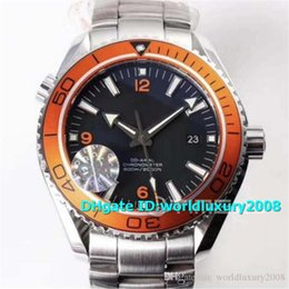 $enCountryForm.capitalKeyWord Australia - OM Planet Ocean 600M Mens Watches 45.5MM 232.30.46.21.01.002 Orange Ceramic Bezel Black Dial Swiss 8500 Automatic Water Resistance 50M
