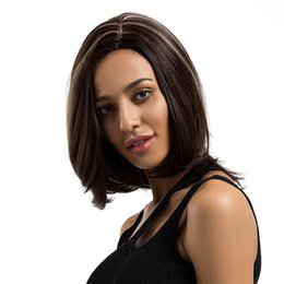 $enCountryForm.capitalKeyWord UK - Hair Care Wig Stands Women's Fashion Wig Black Short Straight Hair Wigs Cosplay Full 38cm Ladies Natural Professional Feb19